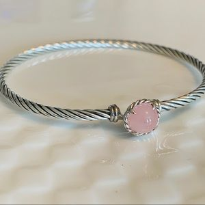 David Yurman Chatelaine Bracelet Guava Quartz